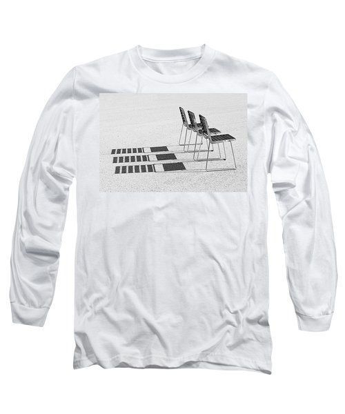 Chairs In The Sun Long Sleeve T-Shirt