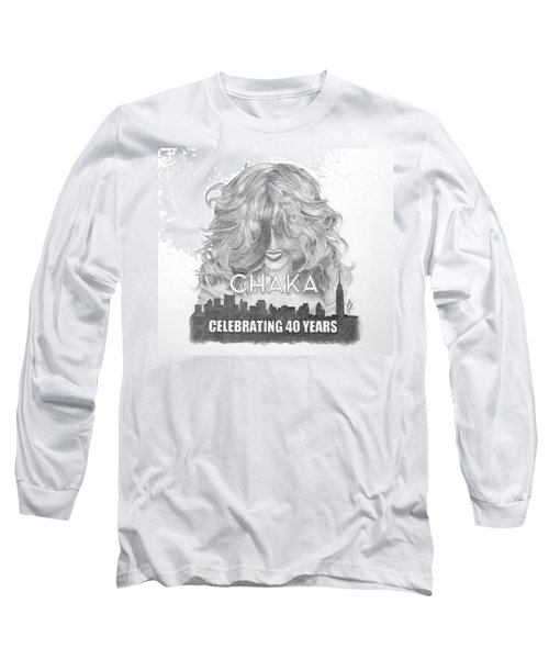 Chaka 40 Years Long Sleeve T-Shirt