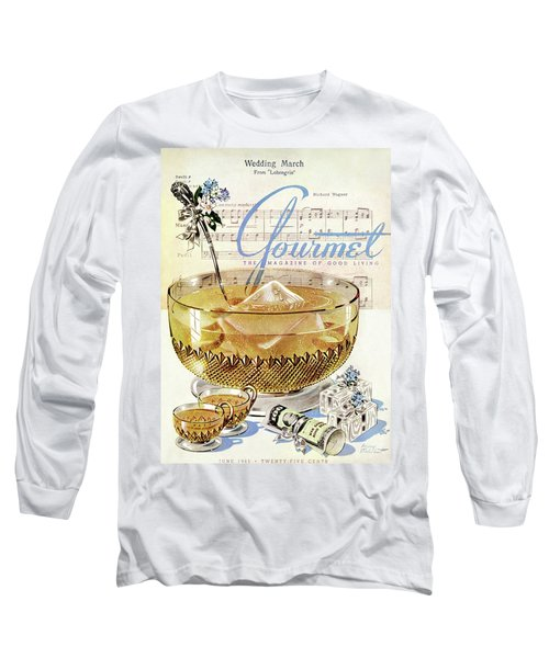 Champagne Punch And The Wedding March Long Sleeve T-Shirt