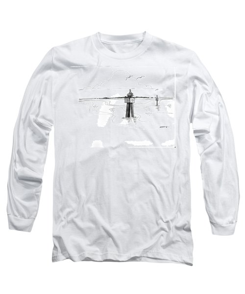 Channel Markers Ocracoke Inlet Long Sleeve T-Shirt