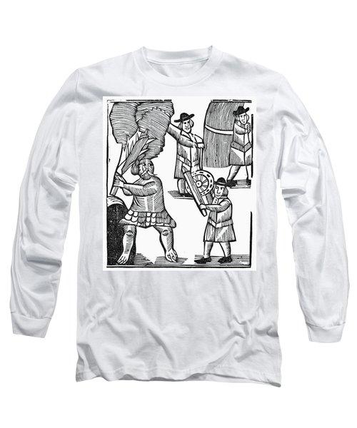 Chapbook Tom Hickathrift Long Sleeve T-Shirt