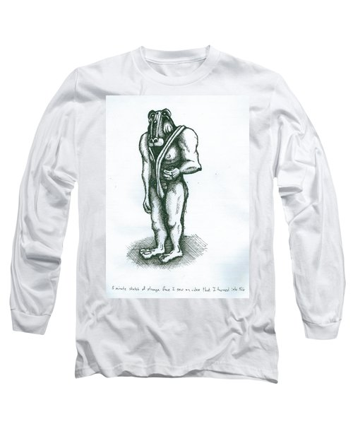 Character Sketch Long Sleeve T-Shirt