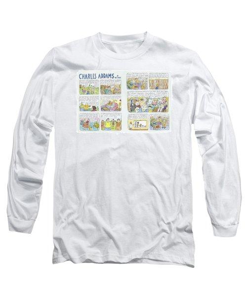 Charles Addams Long Sleeve T-Shirt