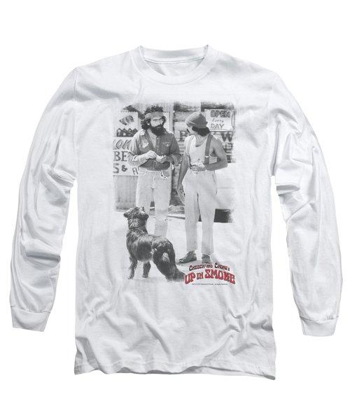 Cheech And Chong - Square Long Sleeve T-Shirt