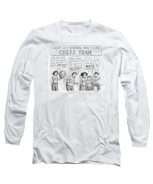 Cheers From The Hollyhock Middle School Chess Long Sleeve T-Shirt