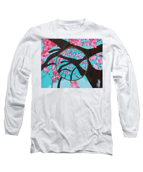 Cherry Blossom Long Sleeve T-Shirt