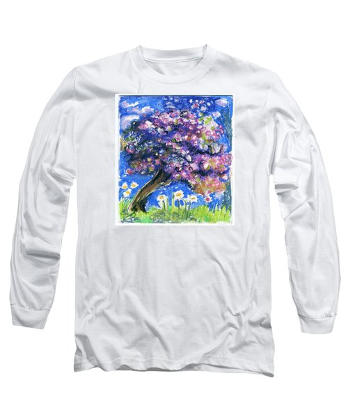 Cherry Blossom Spring. Long Sleeve T-Shirt