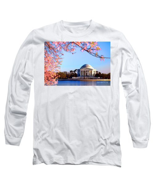 Cherry Jefferson Long Sleeve T-Shirt