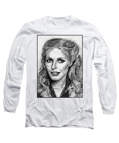 Cheryl Ladd In 1977 Long Sleeve T-Shirt