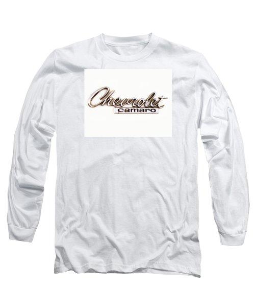 Chevrolet Camaro Emblem Long Sleeve T-Shirt by Jerry Fornarotto