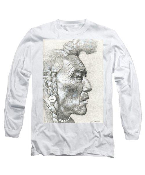 Cheyenne Medicine Man Long Sleeve T-Shirt
