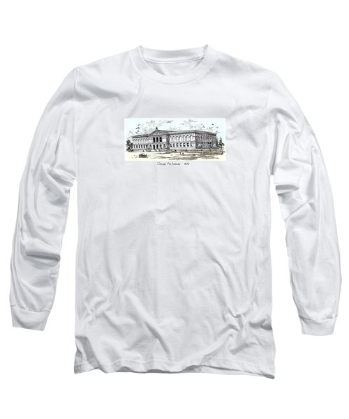 Chicago Art Institute -  1879 Long Sleeve T-Shirt