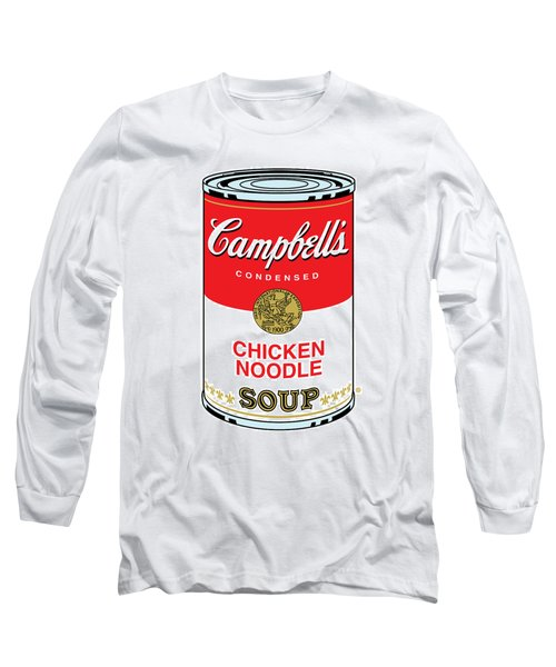 Chicken Noodle Soup Long Sleeve T-Shirt
