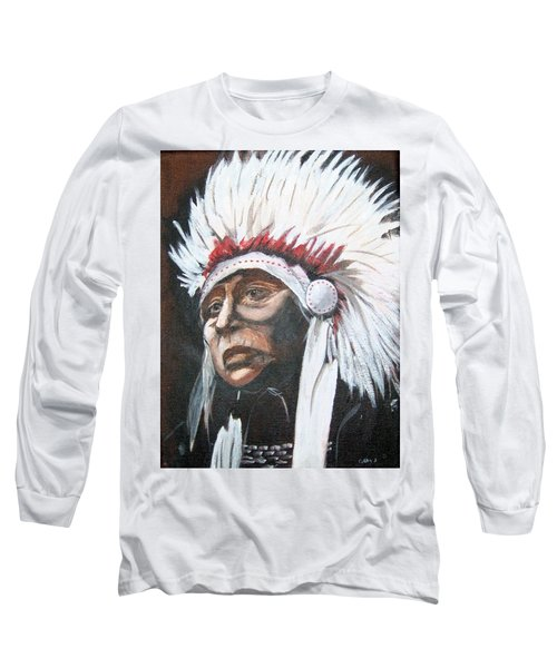 Chief Long Sleeve T-Shirt by Catherine Swerediuk