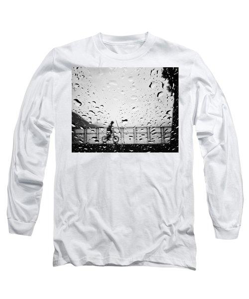 Children In Rain Long Sleeve T-Shirt
