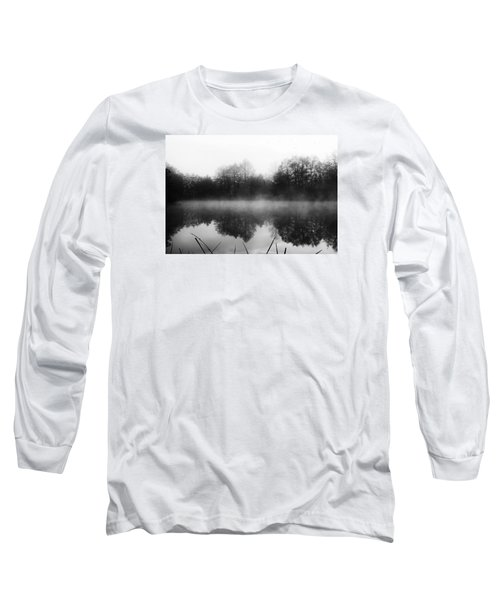 Long Sleeve T-Shirt featuring the photograph Chilly Morning Reflections by Miguel Winterpacht