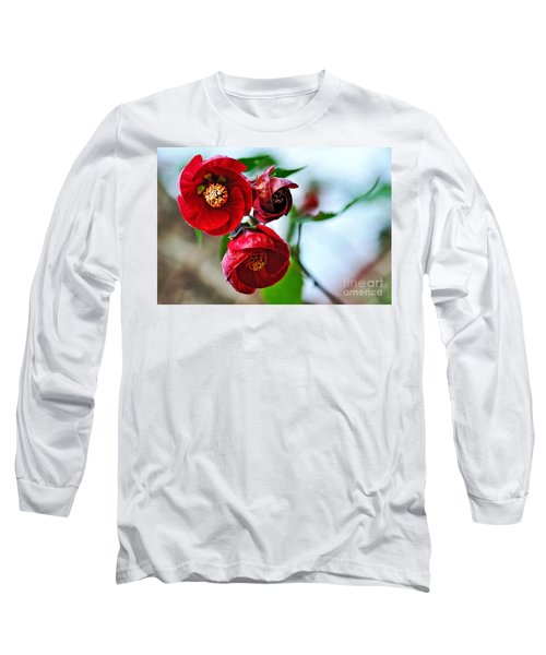 Chinese Lantern - Abutilon Long Sleeve T-Shirt