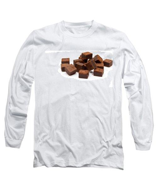 Chocolate Brownies Long Sleeve T-Shirt
