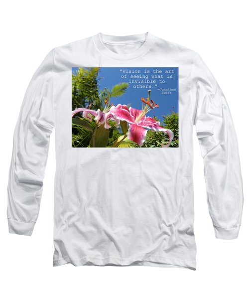 Choose Your Quote Choose Your Picture 19 Long Sleeve T-Shirt