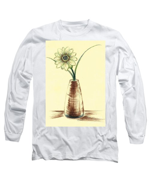 Chrysanthemum Flower Long Sleeve T-Shirt