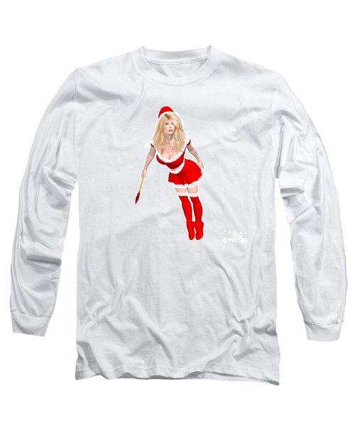 Christmas Elf Elise Long Sleeve T-Shirt