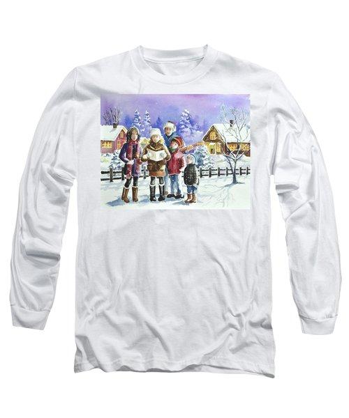 Christmas Family Caroling Long Sleeve T-Shirt
