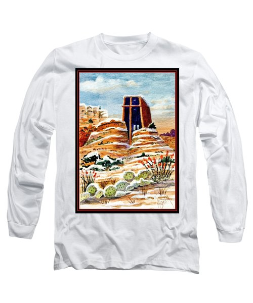 Christmas In Sedona Long Sleeve T-Shirt