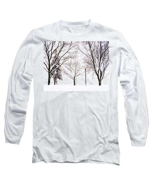 Christmas In Skaneateles Long Sleeve T-Shirt