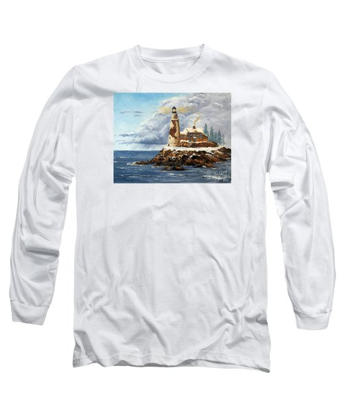 Christmas Island Long Sleeve T-Shirt by Lee Piper