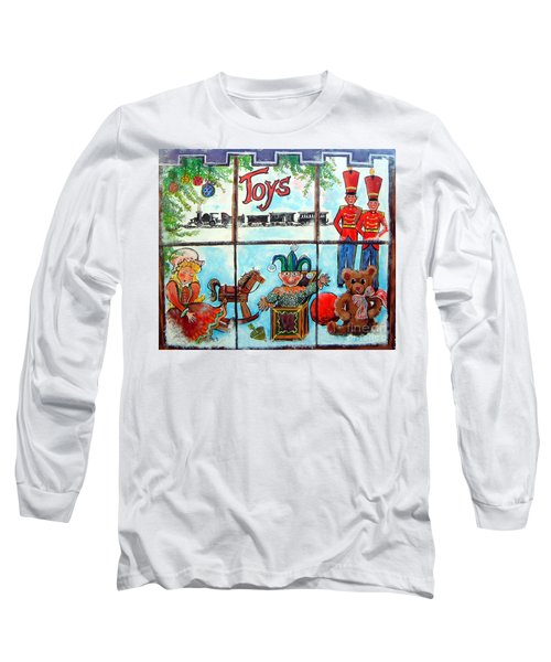 Christmas Window Long Sleeve T-Shirt