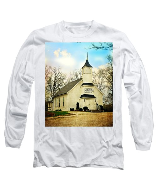 Long Sleeve T-Shirt featuring the photograph Church 12 by Marty Koch