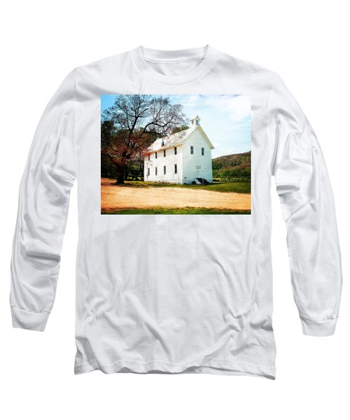 Long Sleeve T-Shirt featuring the photograph Church At Boxley by Marty Koch