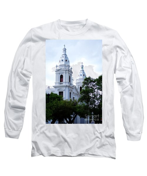Church In Puerto Rico Long Sleeve T-Shirt