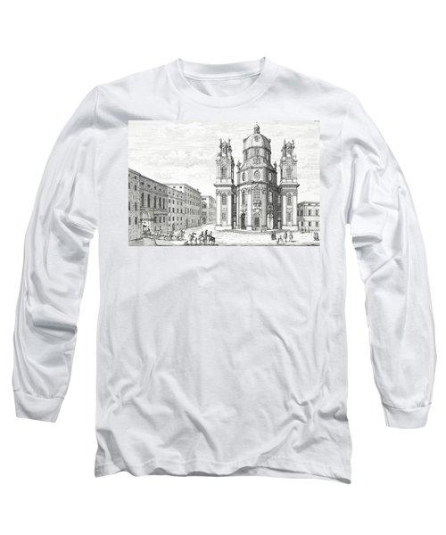 Church Of Notre Dame, Salzburg Long Sleeve T-Shirt