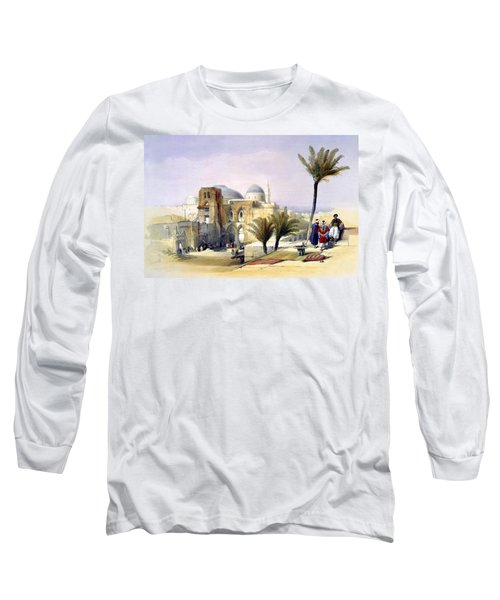 Church Of The Holy Sepulchre In Jerusalem Long Sleeve T-Shirt