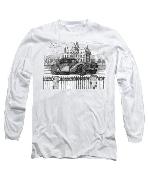Classic Auto With Chateau Long Sleeve T-Shirt