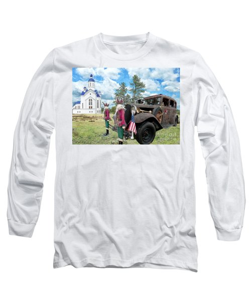 Long Sleeve T-Shirt featuring the photograph Classic Ride by Liane Wright
