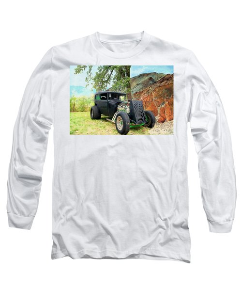 Long Sleeve T-Shirt featuring the photograph Classic Rod by Liane Wright