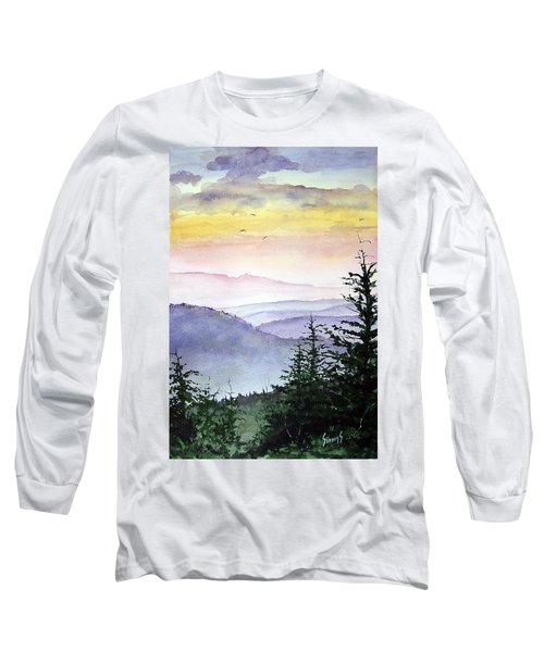 Clear Mountain Morning II Long Sleeve T-Shirt