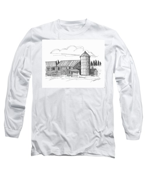 Clermont Barn 2 Long Sleeve T-Shirt