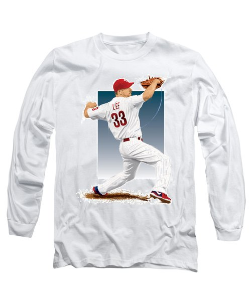 Cliff Lee Long Sleeve T-Shirt