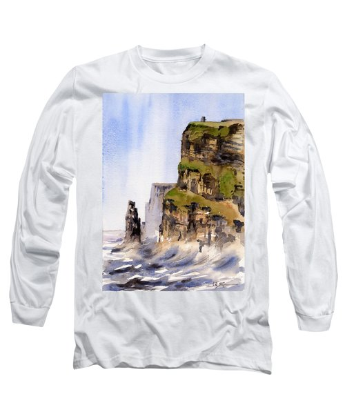 Clare   The Cliffs Of Moher   Long Sleeve T-Shirt