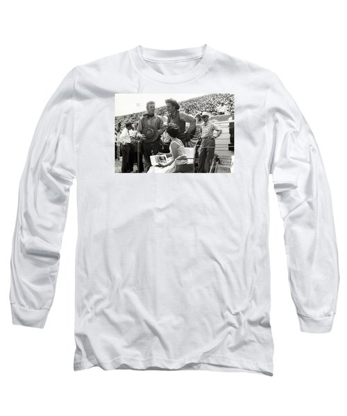 Clint Eastwood  Eric Fleming Characters Rowdy Yates Salinas California 1962 Long Sleeve T-Shirt