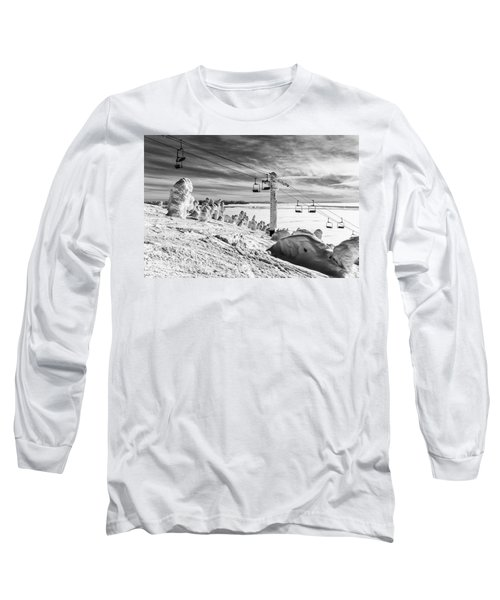 Cloud Lift Long Sleeve T-Shirt by Aaron Aldrich
