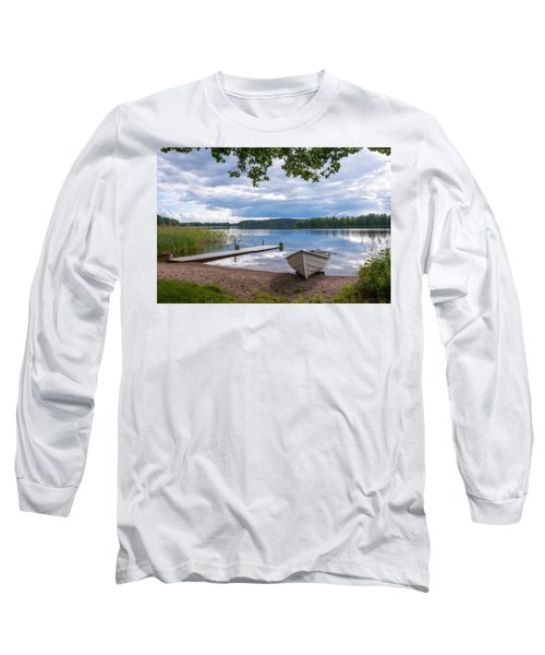 Cloudy Summer Day Long Sleeve T-Shirt