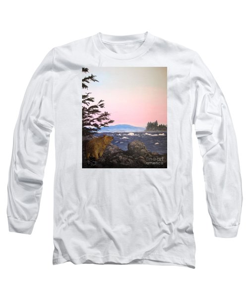 Coastal Bear Long Sleeve T-Shirt