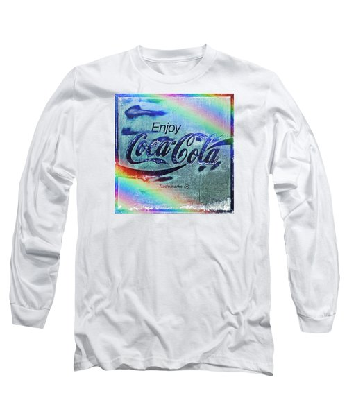Coca Cola Rainbow Long Sleeve T-Shirt