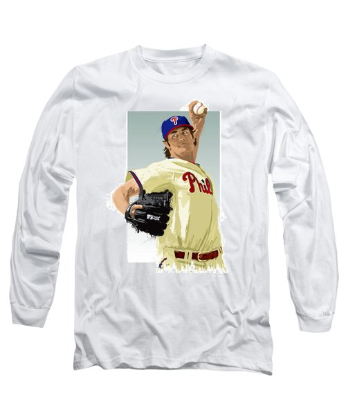 Cole Hamels Long Sleeve T-Shirt