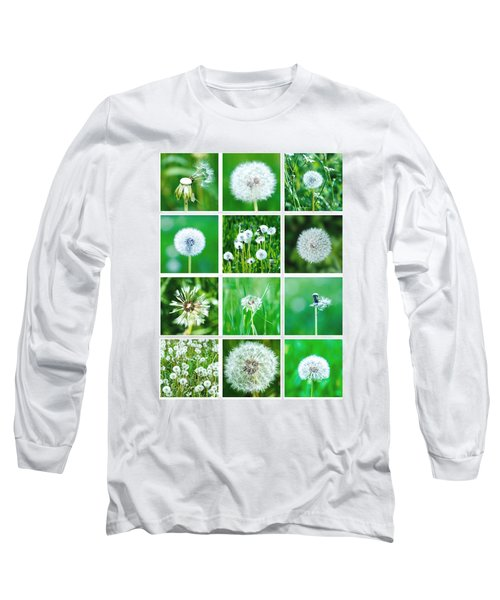 Collage June - Featured 3 Long Sleeve T-Shirt by Alexander Senin