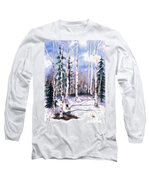 Colorado Aspens 2  Long Sleeve T-Shirt